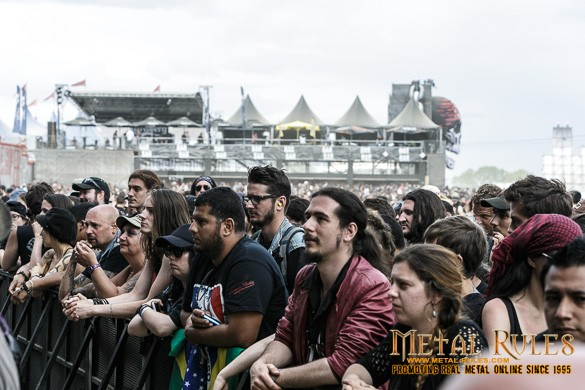 Early Morning Hellfest Crowd!