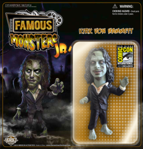 Limited edition green Hammett figure