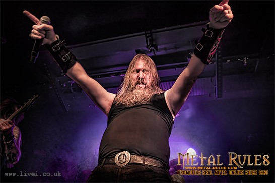 Amon Amarth-Darket Era - Limelight Belfast