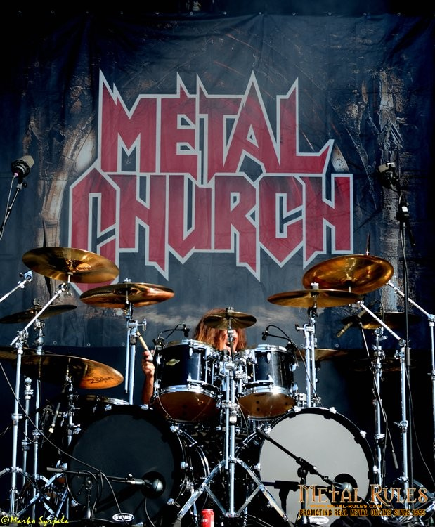 Metal Church : jeff plate drum set - pezcame.com