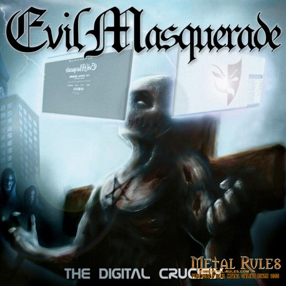 Evil_M_cover_2014_EVIL MASQUERADE - The Digital Crucifix (print)