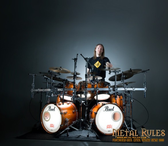New Nightwish drummer Kai Hahto
