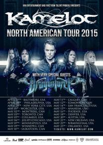 KAMELOT NORTH AMERICA 2015 w special guests DragonForce
