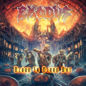 Exodus - Blood In Blood Out (Front Cover)