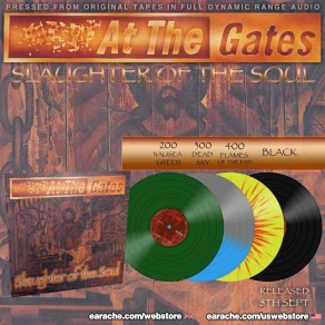 AT THE GATES: 'SLAUGHTER OF THE SOUL' FULL DYNAMIC RANGE VINYL OUT NOW