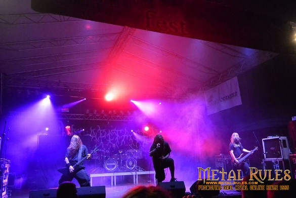 Decapitated live at Śliwka Fest 2014 in Poland