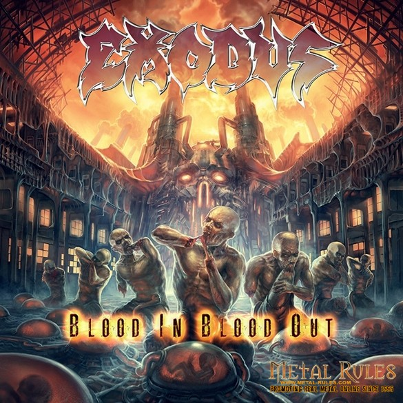 Exodus - Blood In, Blood Out - Artwork (585x585)