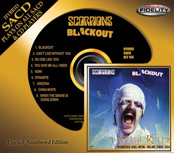 Scorpions Blackout SACDMockup
