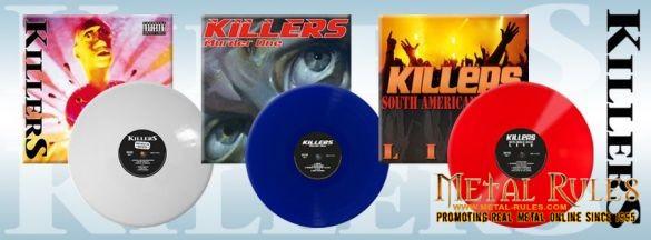 Killers on vinyl