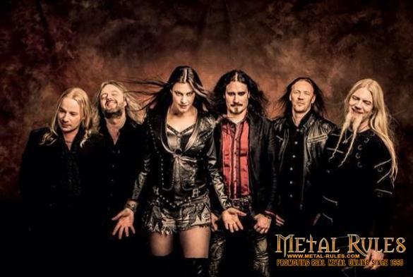 Nightwish - Dec 2014 promo pic