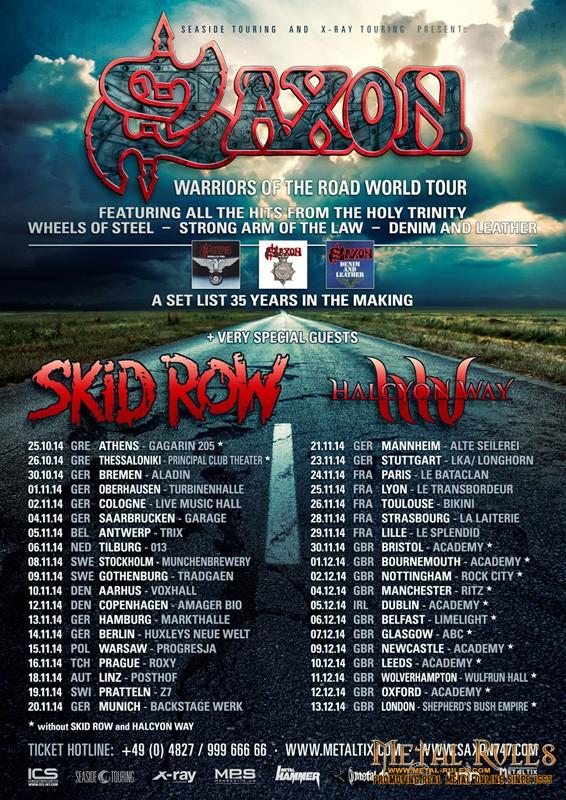 Saxon_tour_2014_poster_amager_bio_copenhagen