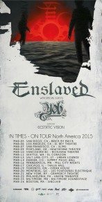 ENSLAVED Announces North American Headlining Tour