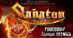 SABATON OPEN AIR GERMANY