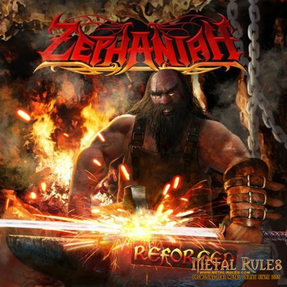 ZEPHANIAH - Reforged cd cover 600 x 600