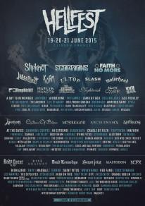 Hellfest 2015 poster
