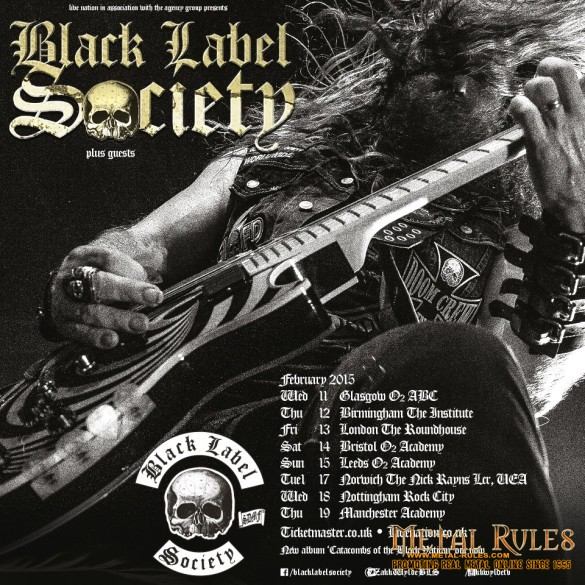 Black Label Society @ Manchester Academy