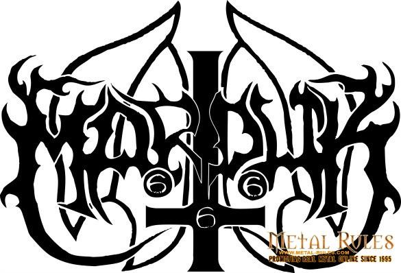 Band Logo - Marduk