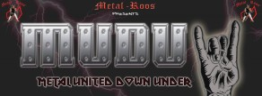 Metal United Down Under Shows & Media Partners