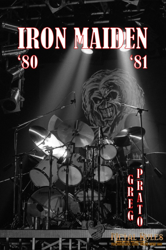 Iron Maiden book cover