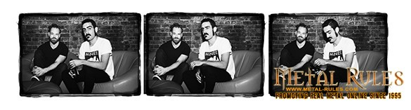 Karnivool guitarists Mark Hosking and Drew Goddard