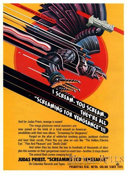 Judas Priest - 1982 promo