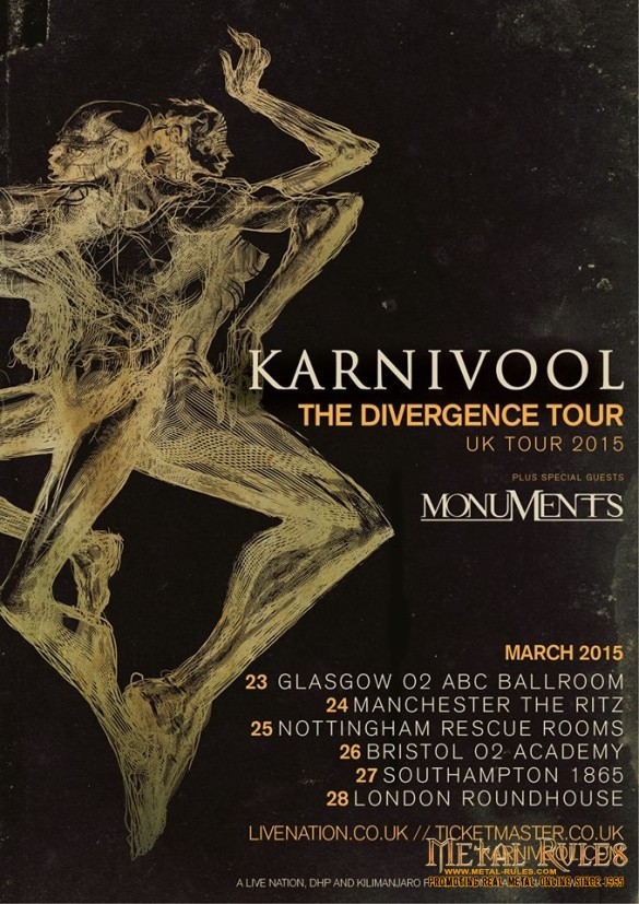 Karnivool @ Camden Roundhouse March 28, 2015
