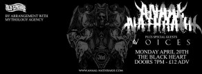 Anaal Nathrakh  @ The Black Heart, London  20th May, 2015