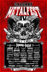 Calgary Metalfest IV June 3-7, 2015