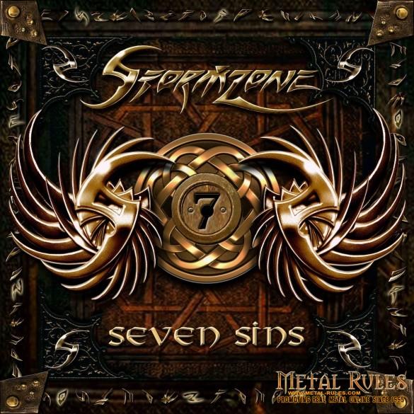 STORMZONE - SEVEN SINS ALBUM COVER
