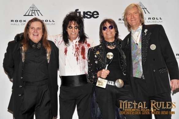 Michael, Alice, Dennis and Neal in Hall of Fame