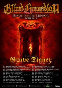 BLIND GUARDIAN ANNOUNCE NORTH AMERICAN TOUR