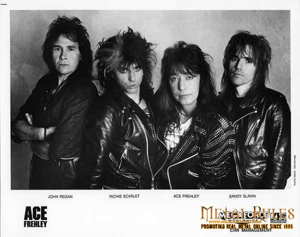 Ace Frehley band 1989