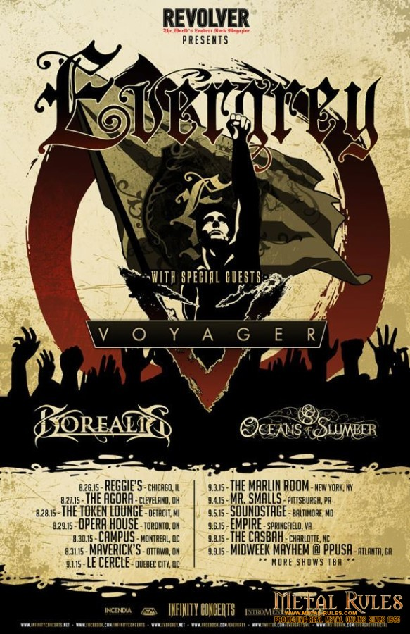 Everygrey Borealis US Tour