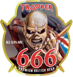 IRON MAIDEN - ROBINSONS CELEBRATE 10 MILLION PINTS OF TROOPER WITH A NEW LIMITED EDITION BREW