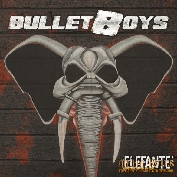 Bullet Boys elefante med res