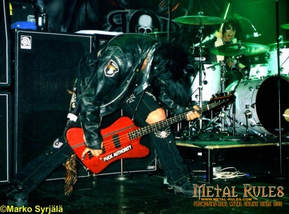 Nikki Sixx and Scot in Finland with BOD in 1999
