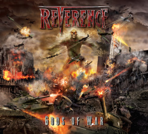 Power Metal Band Reverence Announces Album Cover Artwork