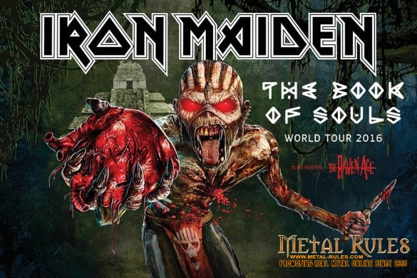 Iron Maiden 2016 Tour