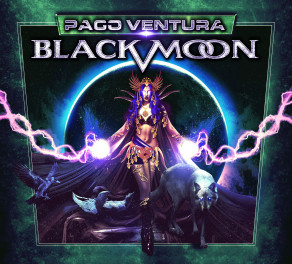 """Paco Ventura Black Moon"" - international Spanish Hard Rock project available October 30th"