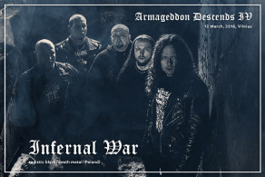 "No mercy: INFERNAL WAR will perform in ""Armageddon Descends IV"""
