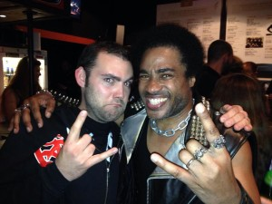Hugo Aribart with Katon of HIRAX