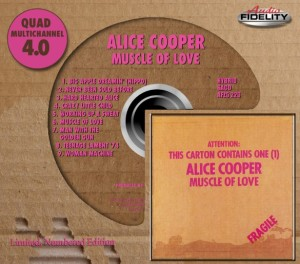 "Audio Fidelity To Release Alice Cooper's ""Muscle of Love"" On 4.0 Quad SACD"