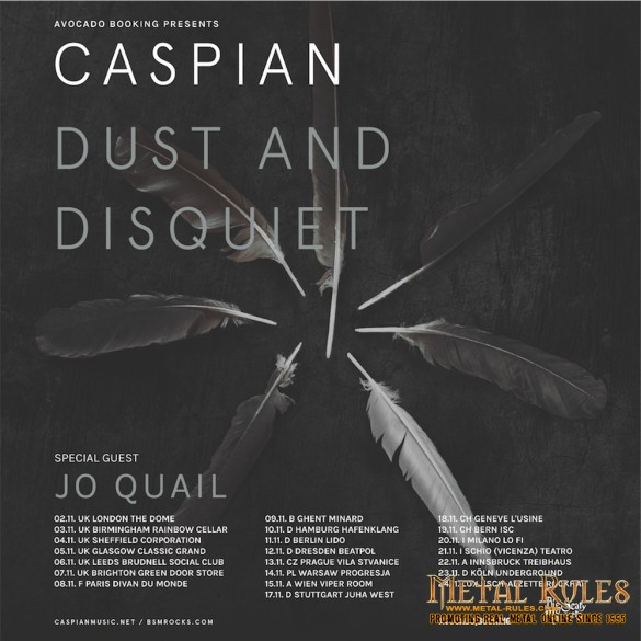 Caspian @ The Dome, London 02 November 2015