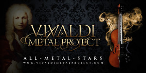 Vivaldi Metal Project signs with Pride & Joy Music label; album is to be released in May 2016