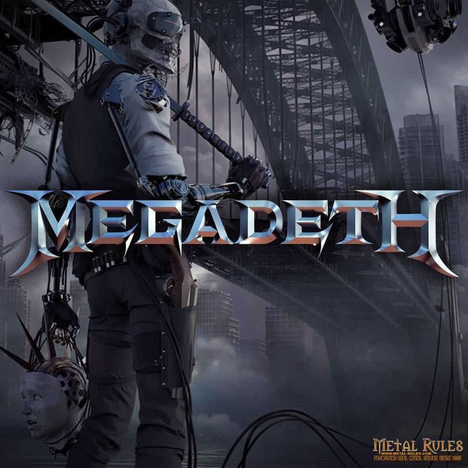 megadeth rust in peace wallpaper