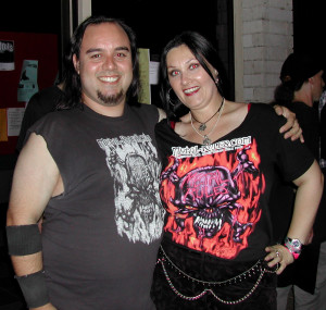 Brat with Raul from Dark Order