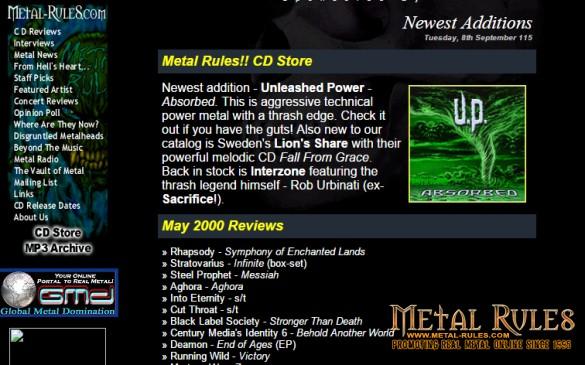 Metal-Rules.com 2000