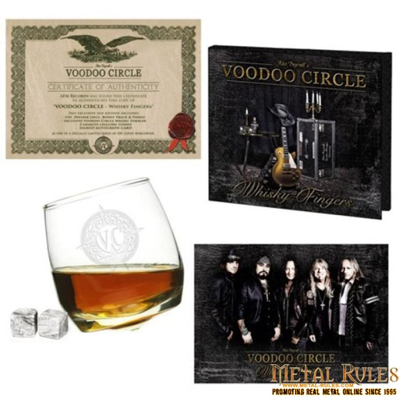 Voodoo Circle - Whisky Fingers deluxe edition