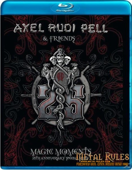 Axel Rudi Pell & Friends - Magic Moments Blu-Ray