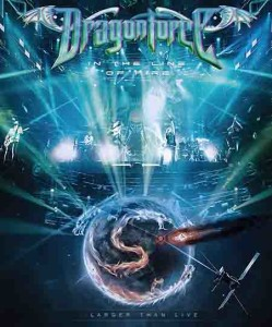 Dragonforce - In The Line Of Fire Live